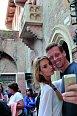 Do města zamilovaných přijel Ester podpořit její přítel Tomáš Berdych.