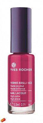 Naneste si na drápky lak od Yves Rocher, odstín Rose Somptueux. Červená vám bude slušet!  Cena 149 Kč