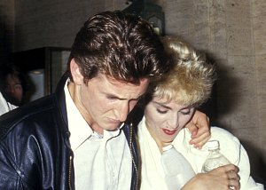 Sean a Madonna v roce 1987