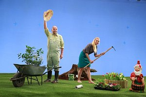 Zdeňku Pohlreichovi to v zahradnickém sluší skoro stejně jako v kuchařské zástěře.