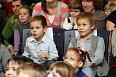 Svoje milované rodiče z publika sledovali také synové Jakub a Matýsek.