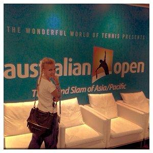 Ano, jsou zde kvůli tenisu, ale výlet je to pěkný!