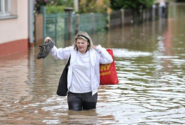 ---Czech Republic, floods, Novy Bydzov