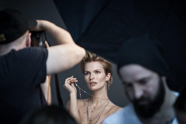 Modelka Denisa Dvončová.