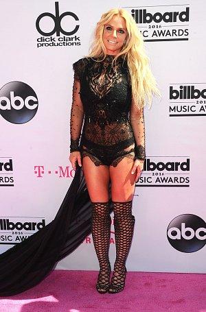 Zpěvačka Britney Spears.
