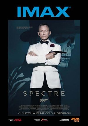 Cinema City IMAX uvádí novou bondovku Spectre