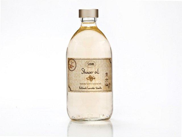 Sprchový olej, Sabon, cena 430 Kč. K dostání na Sabon.cz.