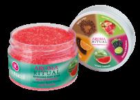 Jemný tělový peeling Aroma Ritual body scrub Vodní meloun, Dermacol, 149 Kč.