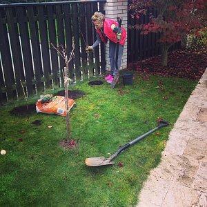 Moderátorka nezahálí, stíhá i poslední přípravy na zazimování zahrady.