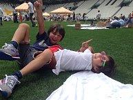 Na stadionu Juventusu se nedávno konal dokonce piknik