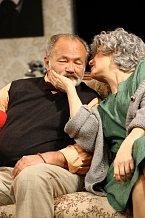 Freimanová se s Rudolfem Hrušínským na divadelních prknech pravidelně potkává.
