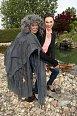 Kamila Nývltová s čarodějnicí Gudrunou
