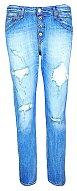 Roztrhané džíny model Pilar tahám pořád. REPLAY, 5200 Kč
