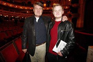 Ladislav Štaidl je na svého syna Artura právem pyšný.