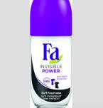 Novinka proti pocení Fa Invisible Power roll-on, cena 79,90 Kč