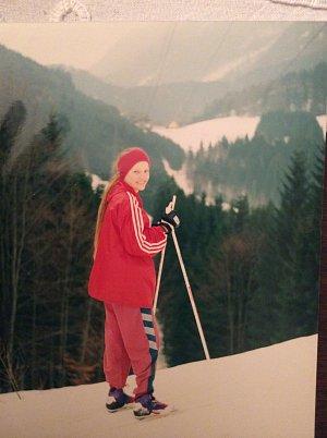 Veronika Procházková je zkušená lyžařka. Na svahu válí už od útlého mládí.