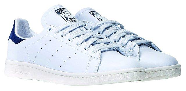 Nejčastěji obouvám tenisky Stan Smith, nejsou to úplně sportovní boty a hodí se ke všemu. ADIDAS ORIGINALS, 2690 Kč