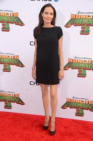 Herečka Angelina Jolie.