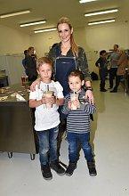 Monika Marešová se svými syny Jakubem a Matějem