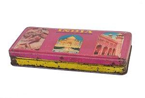 Krabička penál růžová 250 Kc