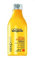 V létě vaše vlasy ochrání šampón L´Oréal Professionnel Soral Sublime ze Série Expert. Cena 249 Kč
