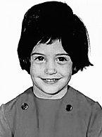 Courteney Cox jako šestiletá.
