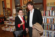 Dana Morávková přišla s manželem a v prostředí knihkupectví se jim moc líbilo