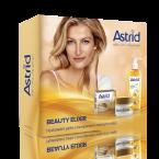 Vánočn sada Beauty Elixir nabízí denní i noční péči o pleť a hedvábný čisticí pleťový olej, Astrid, cena 220 Kč.