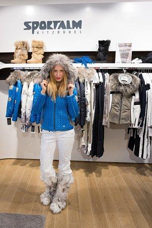 Arktická zima? Romana Pavelková je připravena!