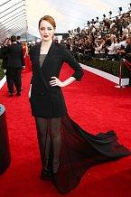 Herečka Emma Stone.