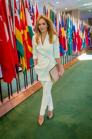 Táňa Kuchařová slaví se svou nadací Krása pomoci úspěchy i za velkou louží.