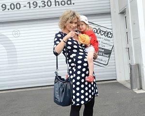Kateřina Stočesová se svou dcerou Anne Marií