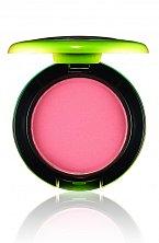 Pudrová tvářenka HIPNESS z nové kolekce Wash & Dry značky Mac, odstín světlá broskvová, cena 660 Kč.