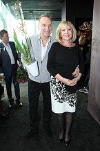 Štefan Margita se svou milovanou manželkou Hankou