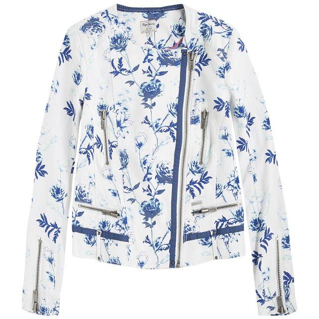 Světlá bunda Pepe Jeans. Info o ceně v obchodě.