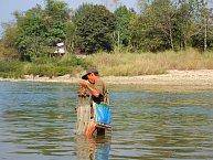Vietnamský rybář