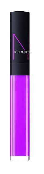 low Pink Lip Gloss z kolekce The Christopher Kane, odstín Sheer fuchsia, Nars, 700 Kč.