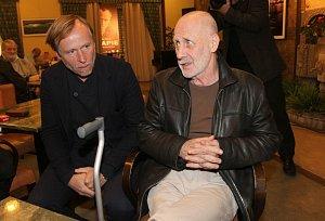 Karel Roden s Jiřím Ornestem
