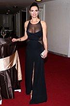 Hana Kynychová vsadila na hodně odvážný model.