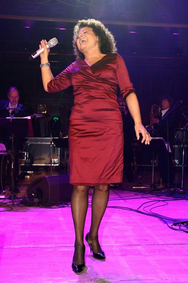 Hostům zazpívala i Jitka Zelenková, která vystřihla hned několik svých hitů.