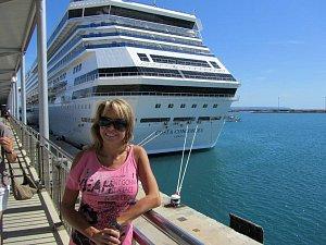 Pavlína Danková byla na lodi Concordia v září 2011.