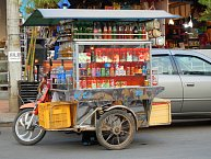 Pojízdný stánek s nápoji