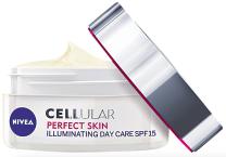 Denní rozjasňující krém Cellular Perfect Skin SPF 15, Nivea, 50 ml 370 Kč