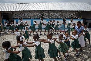 UNICEF a M&S - foto deti
