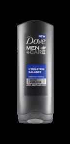 Pánská novinka, sprchový gel Dove Men +Care.