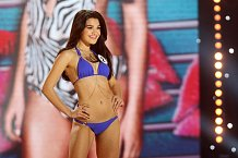 Finalistka České Miss 2015 Andrea Kalousová.