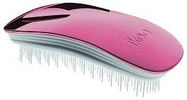 Ergonomický kartáč Ikoo vlasy zanechává po rozčesání hladké a lesklé, Ikoo, exkluzivně ve FAnn parfumeriích, 595 Kč