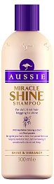 Šampon Aussie Miracle Shine, cena 149 Kč.