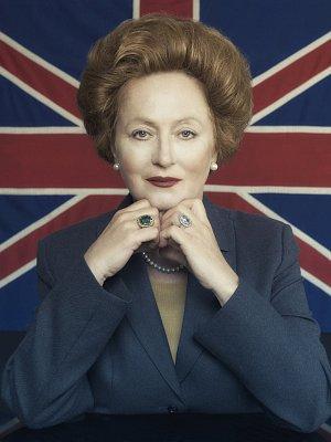 Simona Stašová jako Železná Lady Margaret Thatcher