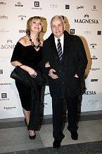 Eliška Balzerová s manželem